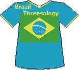 Brazil Threesology T-shirt (10K)