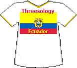 Ecuador Threesology T-shirt (8K)