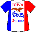 Iowa's Threesology T-shirt