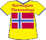 Norway's Threesology T-shirt