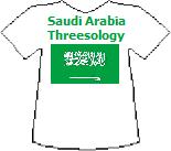 Saudi Arabia Threesology T-shirt (5K)