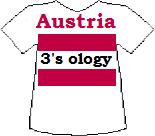 Austria's Threesology T-shirt
