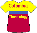 Colombia's Threesology T-shirt
