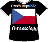 Czech Republic's Threesology T-shirt (6K)