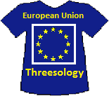 European Union's Threesology T-shirt