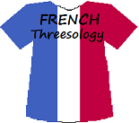 Frances's Threesology T-shirt