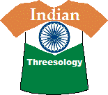 India's Threesology T-shirt (6K)