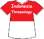 Indonesia's Threesology T-shirt