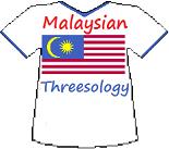 Malaysia's Threesology T-shirt
