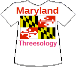 Maryland's Threesology T-shirt