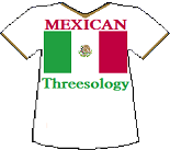 Mexico's Threesology T-shirt