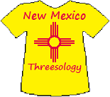 New Mexico's Threesology T-shirt