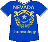 Nevada's Threesology T-shirt