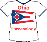 Ohio's Threesology T-shirt