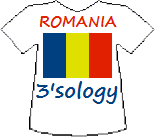 Romania's Threesology T-shirt