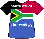 South Africa's Threesology T-shirt