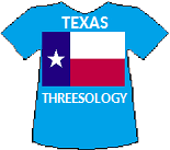 Texas' Threesology T-shirt