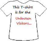 Unknown Visitors Threesology T-shirt