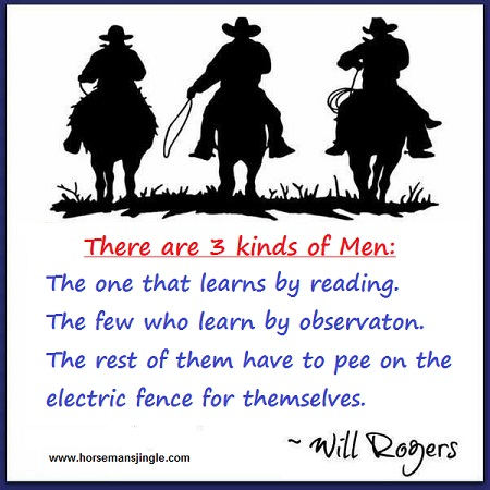 Three kinds of Men by Will Rogers