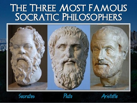 3 great Western philosophers