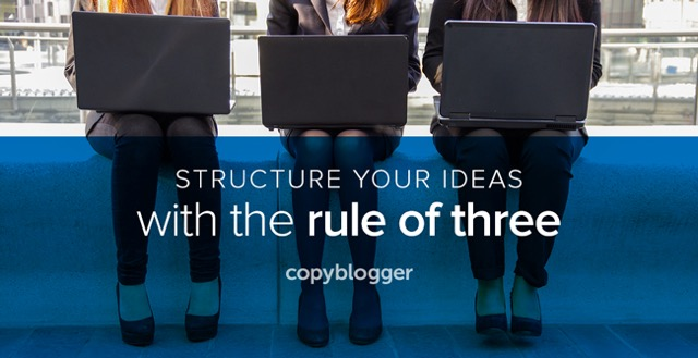 Rule of three idea structuring