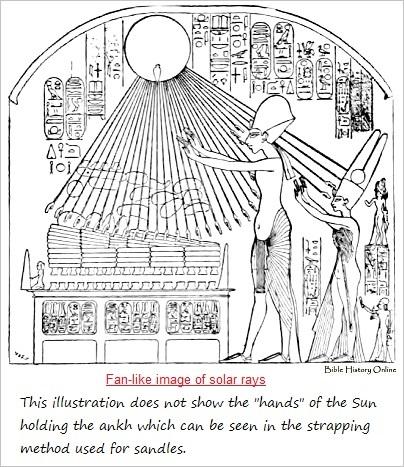 Solar rays as a fan