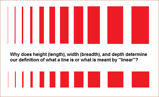 When does a line become something else?