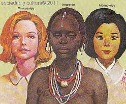 Female versions of the 3 traditional races