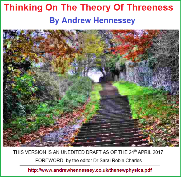 Thinking on the theory of threeness by Andrew Hennessey