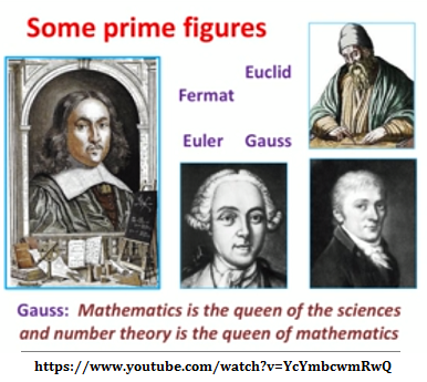Gauss said Mathe is the queen of the sciences