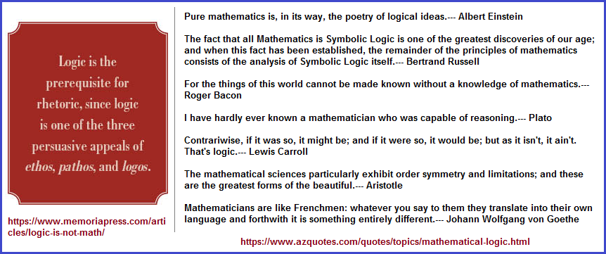 Is physics and Math logic? Is logic actually logical?