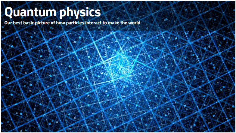 Image from quantum physics article