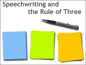 Rulle of Three Speech Writing (11K)