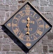One-handed clock