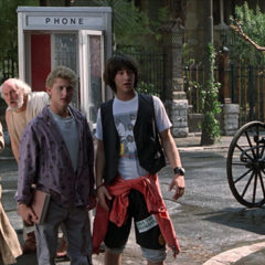 The Phone Booth from Bill and Ted's Excellent Adventure