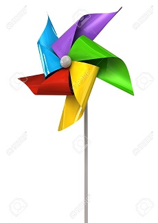 Toy wind wand